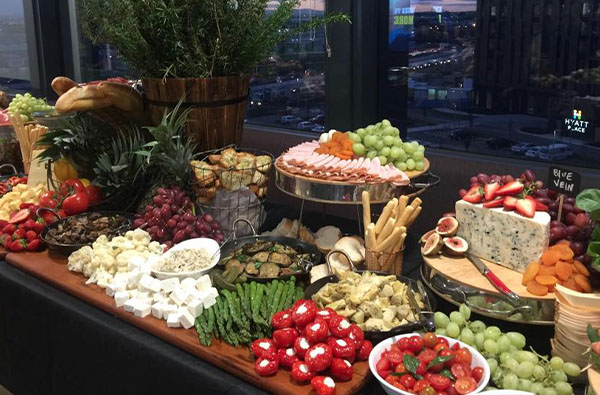 Grazing Tables - The Catering Buffet Co. by Lina
